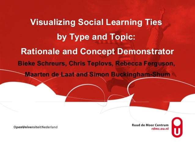 Visualizing Social Learning Ties           by Type and Topic:Rationale and Concept DemonstratorBieke Schreurs, Chris Teplo...