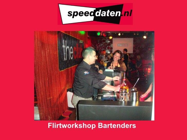 Flirtworkshop Bartenders