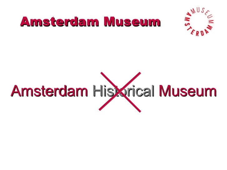 Amsterdam DNA, a major step in the renewal of the Amsterdam Museum Slide 3