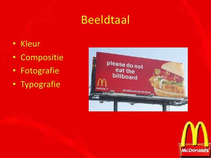 presentatie merkanalyse mcdonalds