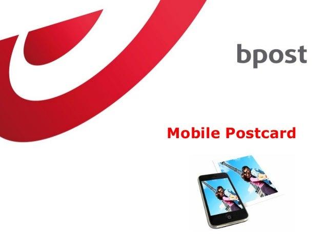 Mobile Postcard