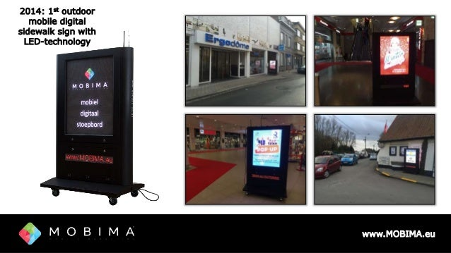 MOBIMA Mobile Digital Signage