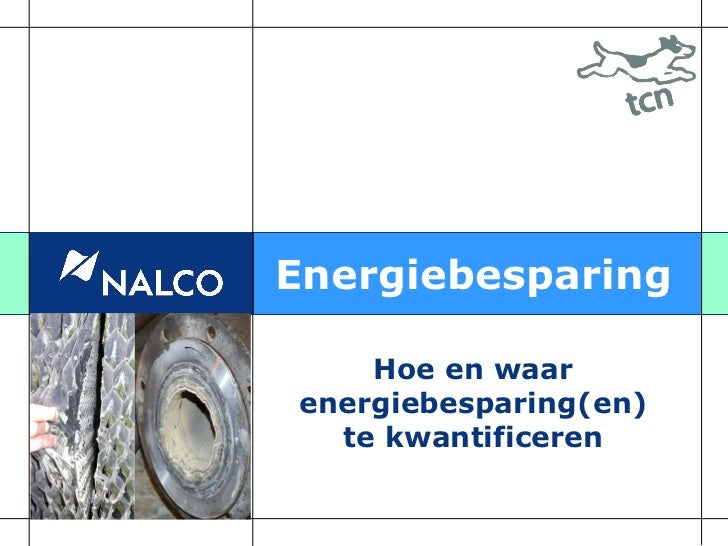 Energiebesparing    Hoe en waarenergiebesparing(en)  te kwantificeren