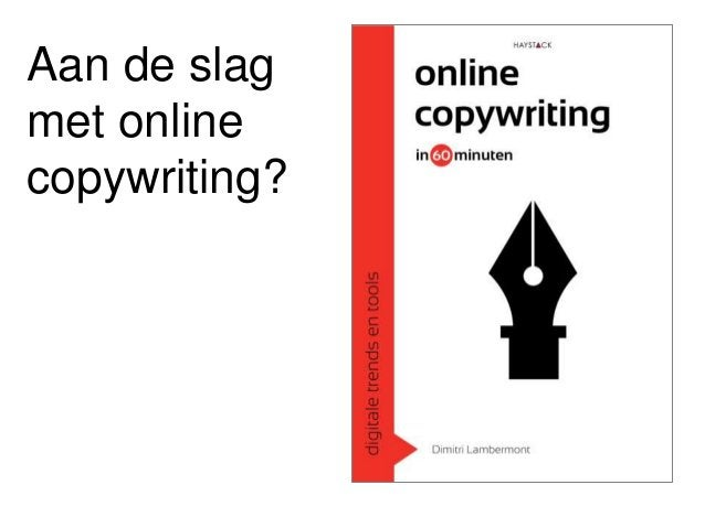 Workshop Online Copywriting Tekstnetwerken 2016 #TNW16 door Dimitri Lambermont