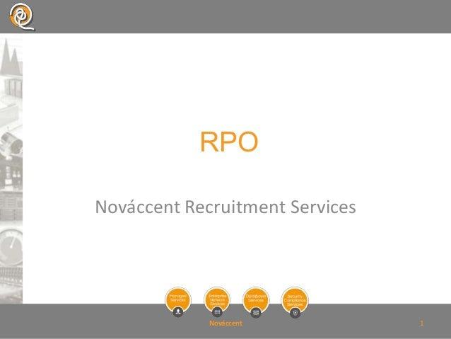 RPONováccent Recruitment Services             Nováccent           1