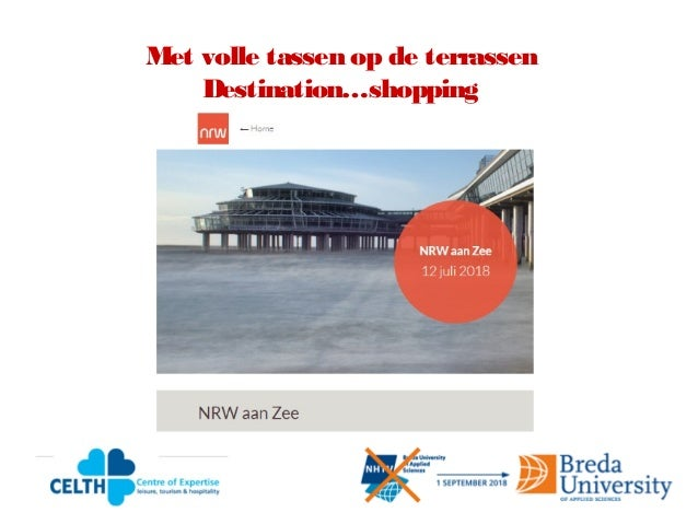 Met volle tassen op de terrassen Destination…shopping
