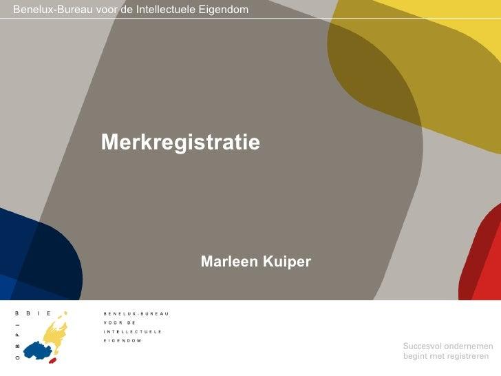 Merkregistratie Marleen Kuiper