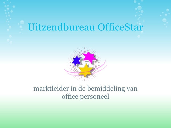 Presentatie Office Star Uitgebreid