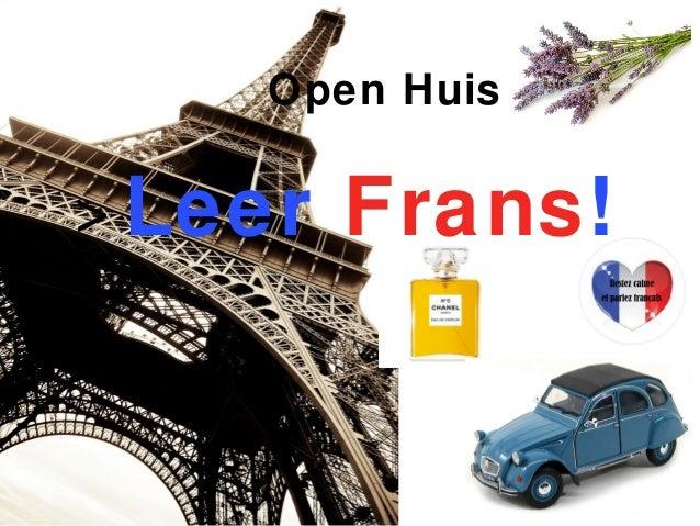 Open Huis > Leer Frans!