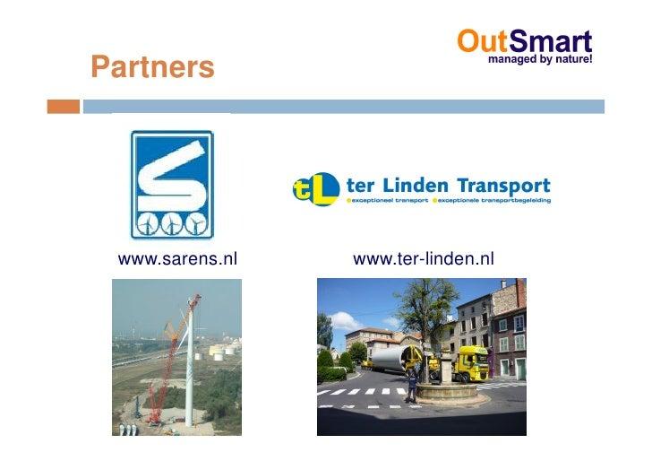 Partners      www.sarens.nl   www.ter-linden.nl