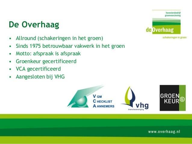 Presentatie Overhaag 21-01-2013 Slide 2