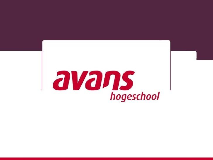 Avans Hogeschool en BiobasedEconomyPaul van Hal / Han van OschKenmerk:                      19 april 2012   2