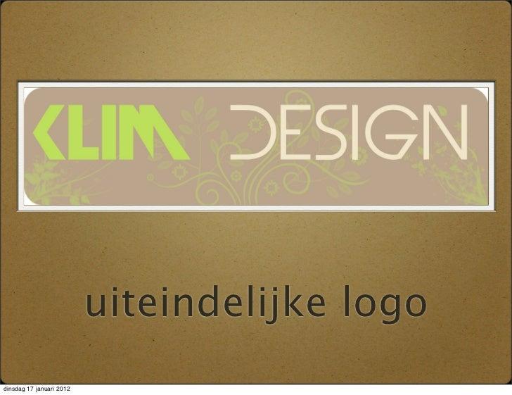 uiteindelijke logodinsdag 17 januari 2012