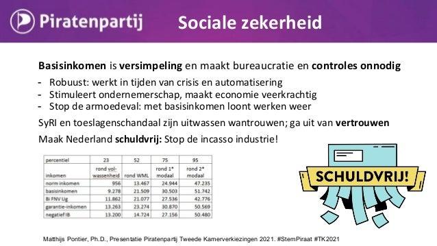 Basisinkomen is versimpeling en maakt bureaucratie en controles onnodig - Robuust: werkt in tijden van crisis en automatis...