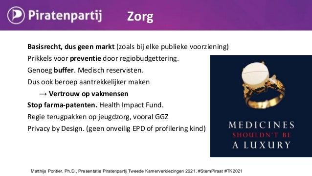 Basisrecht, dus geen markt (zoals bij elke publieke voorziening) Prikkels voor preventie door regiobudgettering. Genoeg bu...