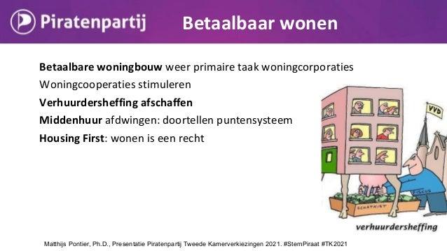 Betaalbare woningbouw weer primaire taak woningcorporaties Woningcooperaties stimuleren Verhuurdersheffing afschaffen Midd...