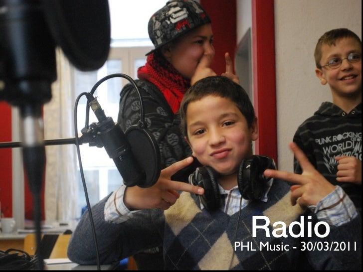 RadioPHL Music - 30/03/2011