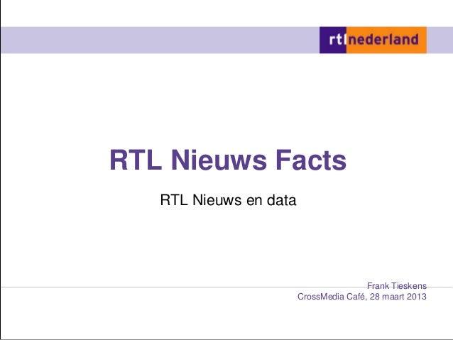 RTL Nieuws Facts   RTL Nieuws en data                                        Frank Tieskens                        CrossMe...