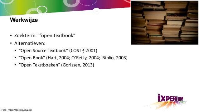 Quickscan Open Textbooks Slide 3