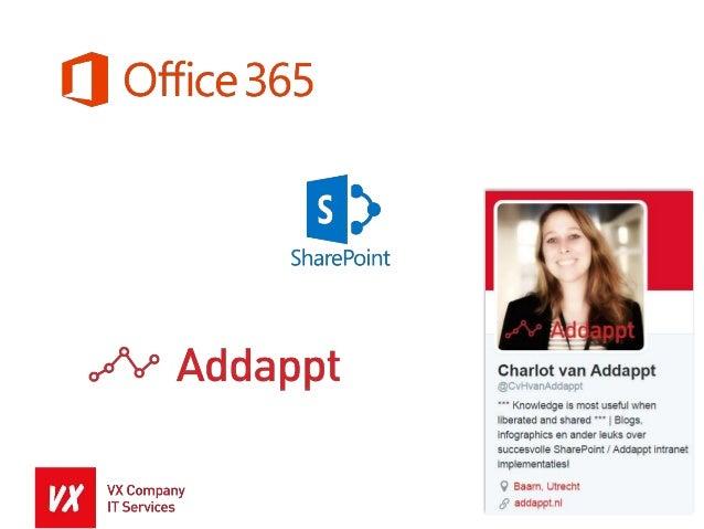 Enterprise Information Management in SharePoint en Office 365 - VX Company IT Services Slide 2