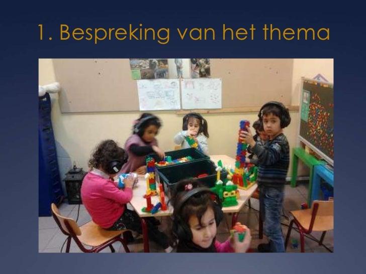 1. Bespreking van het thema   Leerlingen tweede kleuterklas van de Europaschool te Genk