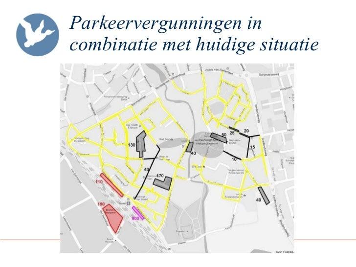 Parkeervergunningen in combinatie met huidige situatie