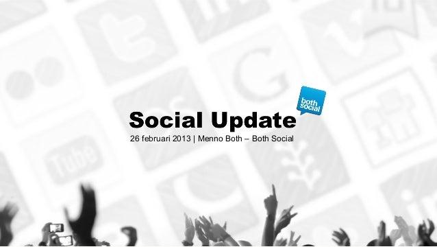 26 februari 2013 | Menno Both – Both Social