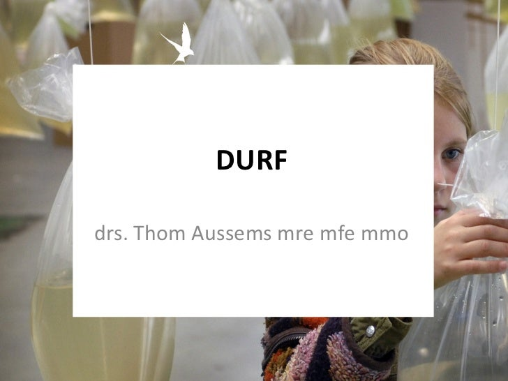 DURF drs. Thom Aussems mre mfe mmo