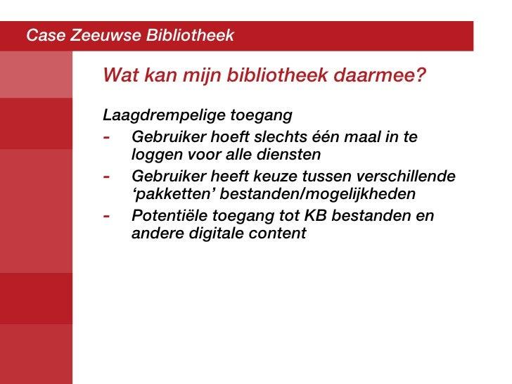 Eerste presentatie digitale bibliotheek vob - Tot zijn bibliotheek ...