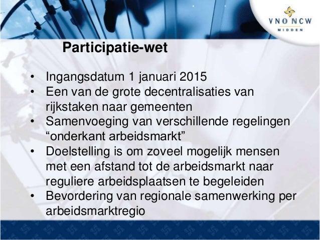 Presentatie: Participatiewet, quotumwet en Sociaal Akkoord | VNO-NCW Achterhoek | Martine Schuijer (Secretaris onderwijs en arbeidsmarkt)  Slide 3