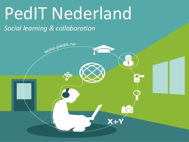 PedIT Nederland Social learning & collaboration