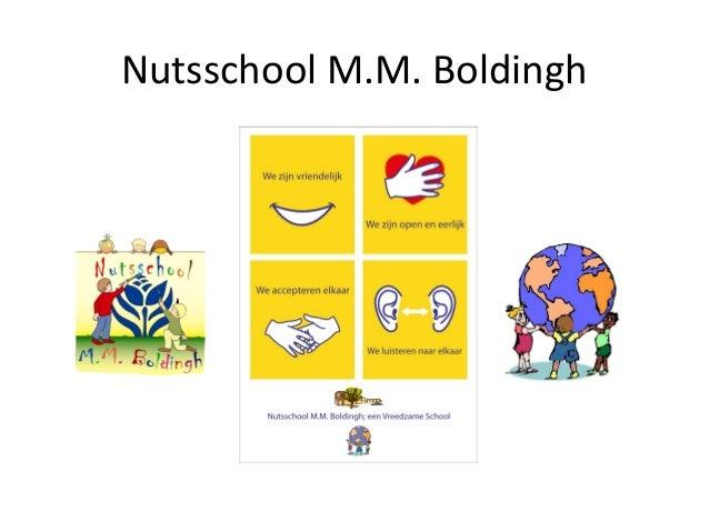 Nutsschool M.M. Boldingh