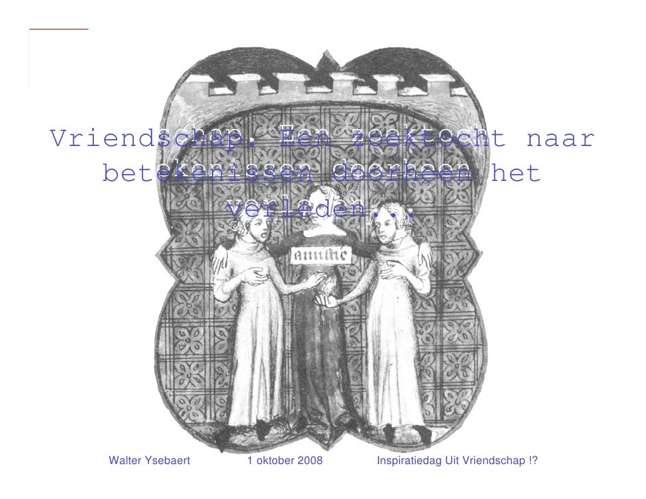 Presentatie Walter Ysebaert