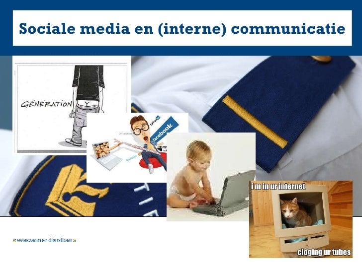 Sociale media en (interne) communicatie