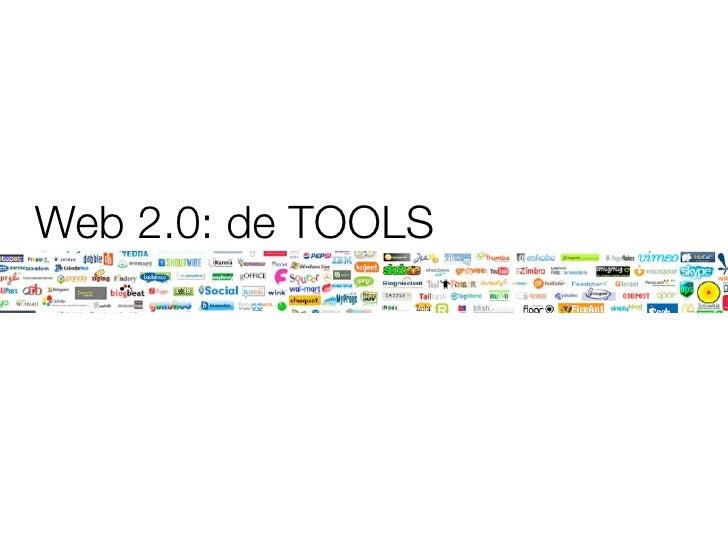 Web 2.0: de TOOLS