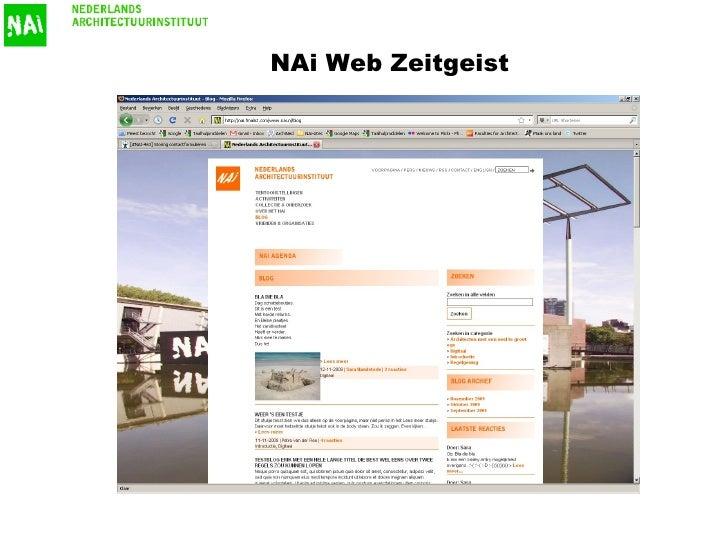 NAi Web Zeitgeist