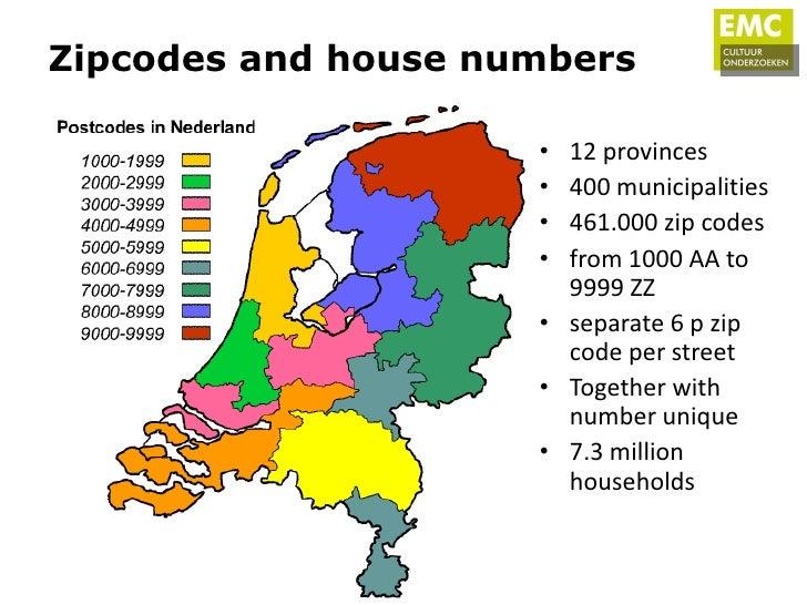 Zip rotterdam code netherlands Netherlands Postcodes