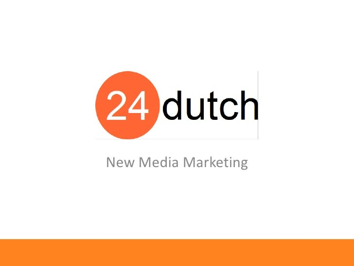 New Media Marketing<br />