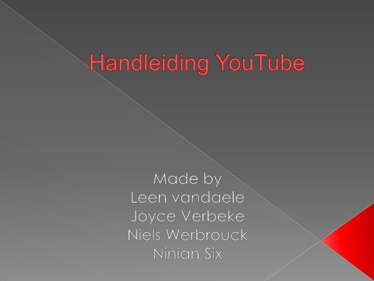 """• Inleiding • Geschiedenis • Mogelijkheden YouTube • Aanmaken account YouTube • Uploaden Filmpje YouTube • """"Rippen""""filmpje..."""
