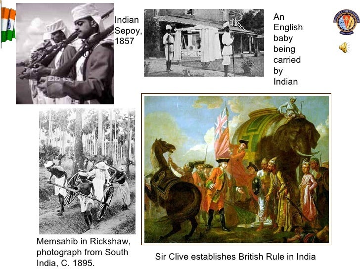 Memsahib in Rickshaw, photograph from South India, C. 1895.  Sir Clive establishes British Rule in India Indian Sepoy, 185...