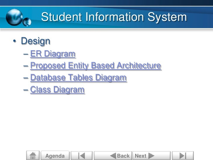 proposed student information system A proposal to implement a monitoring and control system the system will act as a feedback loop when adjusting and mission statement for the proposed project.