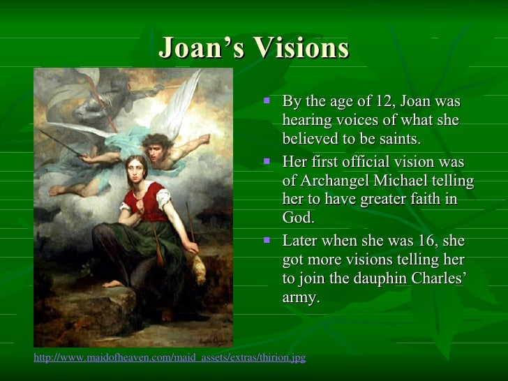 joan of arc god s messenger The movie itself: our reviewer's take of all the adaptations of the joan of arc story produced since the dawn of cinema, carl dreyer's 1928 silent 'la passion de jeanne d'arc' ('the passion.