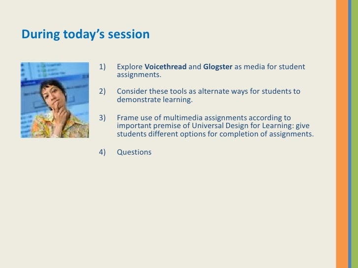multimedia assignments I've been compiling a list of resources for creating multimedia for faculty to use either for teaching or in thinking about tools students could use for course.