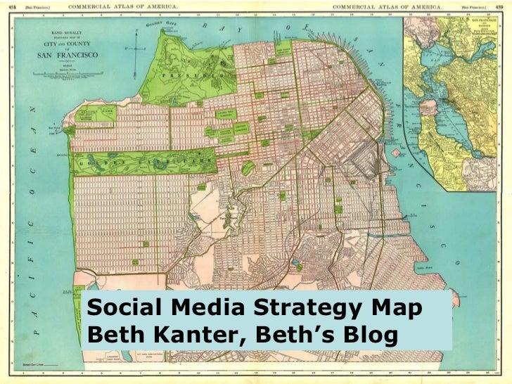 Social Media Strategy Map Beth Kanter, Beth's Blog