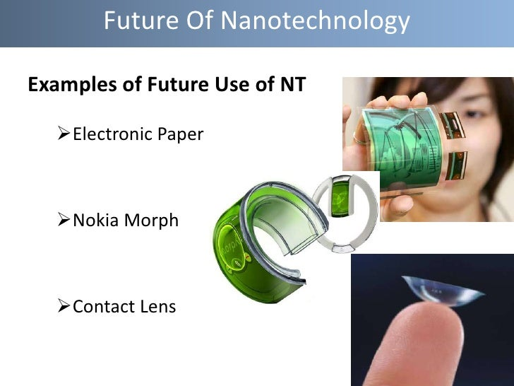 examples of nanotechnology