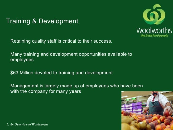 woolworths goals Woolworths vision statement statement is to articulate the purpose and philosophy of the entity while the vision statement states the goal the entity seeks to.