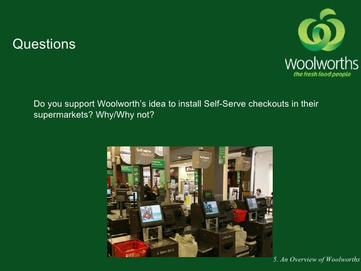 swot analysis of woolworths company in australia See woolworths's revenue, employees, and funding info on owler, the  public independent companyaustralian securities exchangewow  competitive  analysis  press release: woolworths : woolworths limited - strategy and  swot.