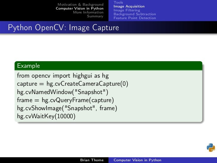 Opencv Background Subtraction From Image