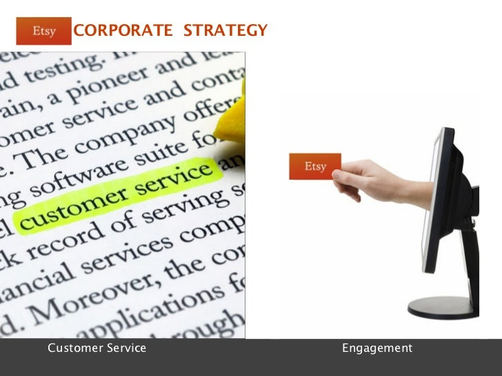 CORPORATE STRATEGYCustomer Service Department   Etsy Pop-Ups