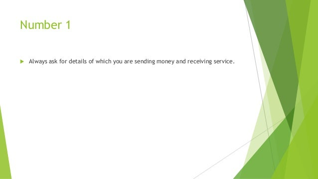 Things To Consider When Sending Or Receiving Money